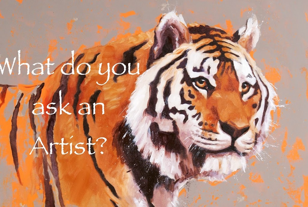 What to say to an artist