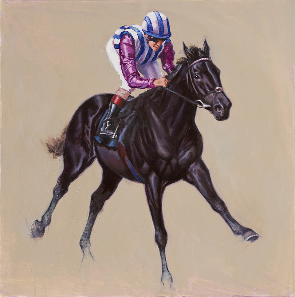 racehorse, racing art, thoroughbred